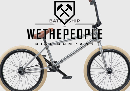 2019 We The People Battleship Bike